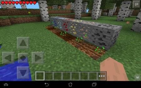 Мод Ore Farm для Minecraft PE 0.9.5 и 0.10.0
