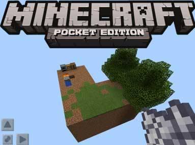 Карта Sky Block v.2 для Minecraft PE 0.9.5 и 0.10.0