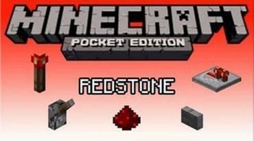 Мод на редстоун для Minecraft PE 0.9.5, 0.10.0