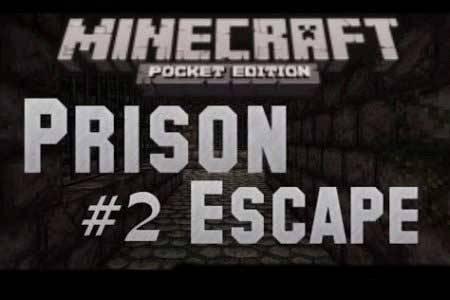Карта Побег из тюрьмы для Minecraft PE 0.9.5, 0.10.0