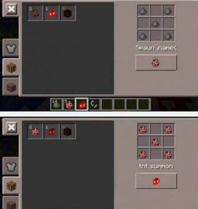 Мод TNT SUMMON для Minecraft PE 0.9.5 и 0.10.0