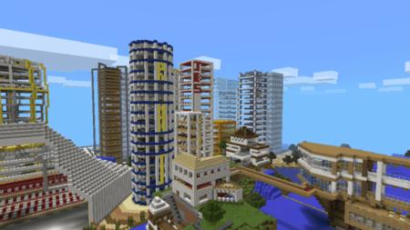 Карта Egaland для Minecraft PE 0.9.5 и 0.10.0