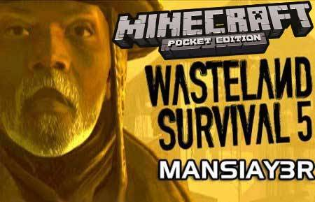 Карта Wastelands surviva для Minecraft PE 0.9.5 и 0.10.0