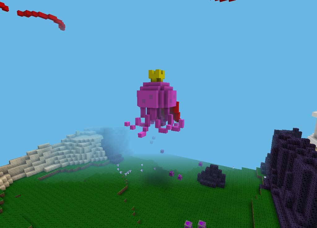 Карта для Майнкрафт Губка Боб / Sponge Bob - Bikini Bottom