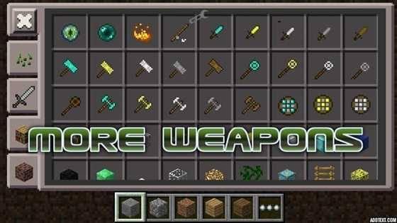 моды к игре майнкрафт 1.5.2 оружие