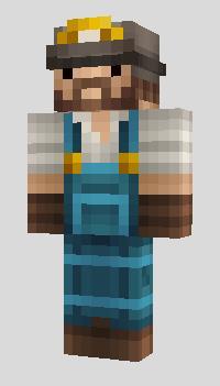 Скины шахтеров для Minecraft PE 0.9.5 - 0.10.4