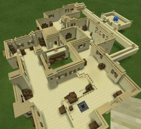 Карта de_dust2 для Minecraft PE 0.9.5 и 0.10.0