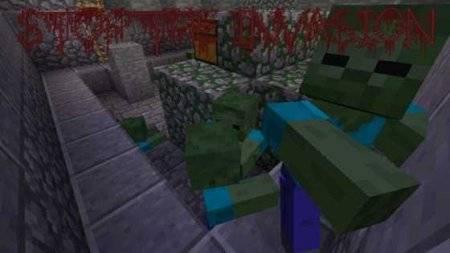 Карта на выживание Virus Z для Minecraft PE 0.9.5 и 0.10.0
