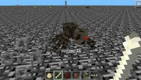 Мод Damage/Block Indicator для Minecraft PE 0.9.5 и 0.10.0