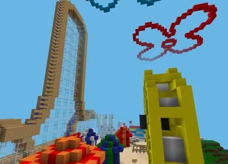 Карта Spongebob Edition для Minecraft PE 0.9.5 и 0.10.0