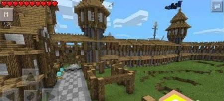Карта Битва королевств для Minecraft PE 0.9.5 и 0.10.0