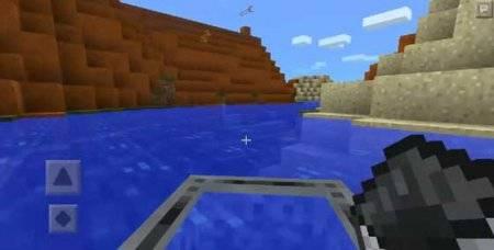 Мод на лодку для Minecraft PE 0.9.5 и 0.10.0