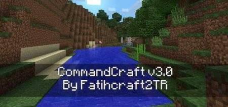 Мод CommandCraft v1.2 - новые команды в Minecraft PE
