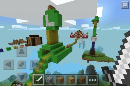 Карта Luigi Parkour для Minecraft PE 0.9.5 и 0.10.0