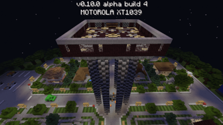 Карта NEIGHBOURHOOD для Minecraft PE 0.9.5 и 0.10.0