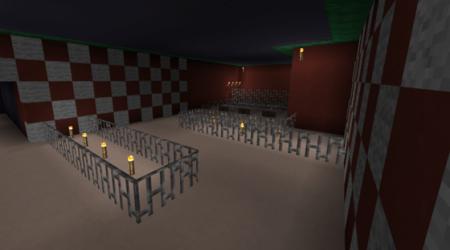 Карта Christmas Roller Coaster для Minecraft PE 0.10.0 и 0.10.4