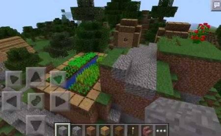 Сид Que hay: супер-симпатичная деревня Minecraft PE 0.10.4
