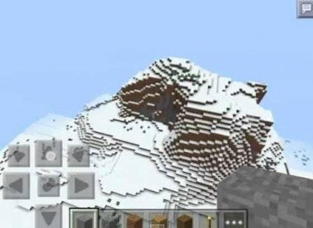 Сид Back to game: биом с ледяными шипами Minecraft PE 0.10.0