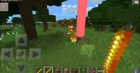 Мод Thunderstick Mod для Minecraft PE 0.9.5 и 0.10.0