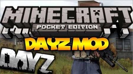 Мод DayZ Mod для Minecraft PE 0.10.0 и 0.10.4