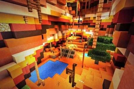 Карта Fallen Earth для Minecraft PE 0.10.0 - 0.10.4