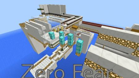 Паркур-карта Zero Fear для Minecraft PE 0.10.0 - 0.10.4
