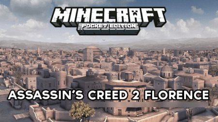 Карта Assassin's Creed 2 для Minecraft PE 0.10.0 и 0.10.4