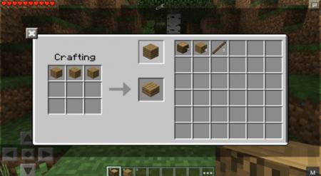 ��� PC Crafting ��� Minecraft PE 0.10.0 - 0.10.4