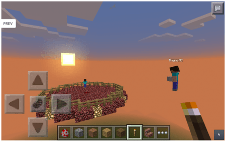 Мод Extreme Herobrine 2 для Minecraft PE 0.10.0 - 0.10.4