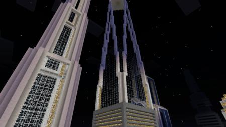 Карта Город Нью-Йорк 3005 для Minecraft PE 0.10.0 - 0.10.4