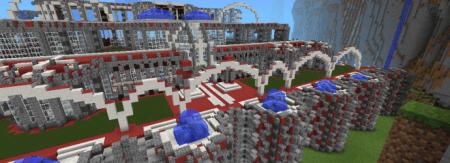 Карта The Red Place для Minecraft PE 0.9.5 и 0.10.0