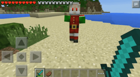 Мод Christmas Bosses для Minecraft PE 0.10.0 - 0.10.4