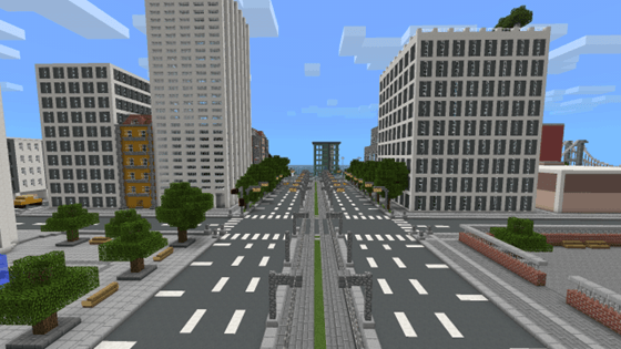 Скачать карту на майнкрафт на городок