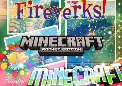Мод Fireverks - фейерверки для Minecraft PE 0.10.0 - 0.10.4