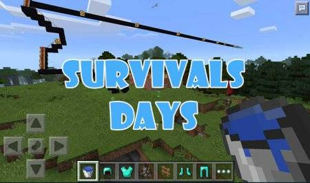 Карта Survivals Days для Minecraft PE 0.10.0 - 0.10.4