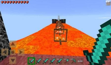Карта Хардкор Паркур v0.2.0 для Minecraft PE 0.10.0 - 0.10.04