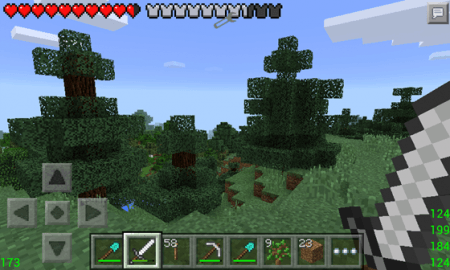 Мод ARMOR STATUS для Minecraft Pocket Edition 0.10.0 - 0.10.4