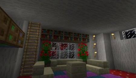 Карта Грибная Деревушка для Minecraft PE 0.10.4 и 0.10.0