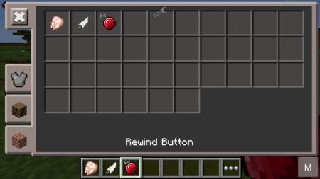 Мод Rewind для Minecraft PE 0.10.4 и 0.10.0
