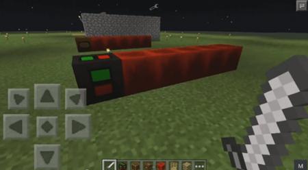 Мод Редстоун для Minecraft Pocket Edition 0.10.4 и 0.10.0