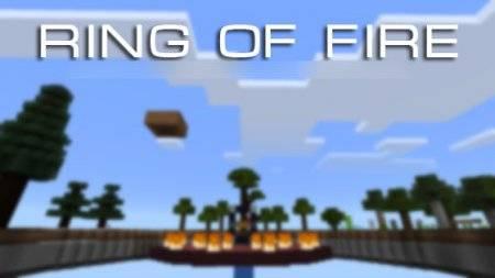 Карта Ring of Fire - Кольцо Огня для Minecraft PE 0.10.4