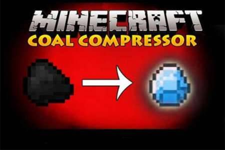 Мод Diamond Compressor для Майнкрафт PE 0.10.4 и 0.10.0