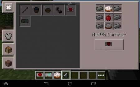 Мод Power Canisters для Майнкрафт Pocket Edition 0.10.4
