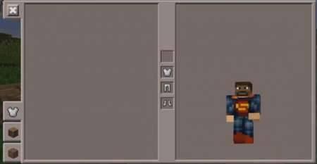 Мод Superman для игры Майнкрафт PE 0.10.5 и 0.10.4