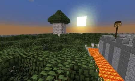PvP-арена с препятствиями для Minecraft PE 0.10.5