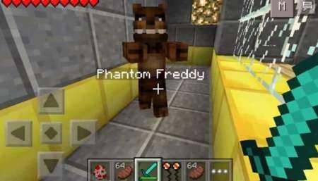 Мод Пять ночей Фредди v.3 для Minecraft PE 0.10.0 - 0.10.5