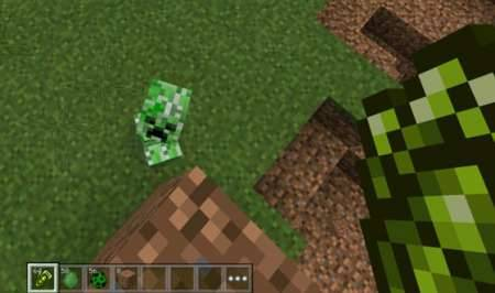 Мод Creeper Gauntlet - Перчатка крипера для Pocket Edition