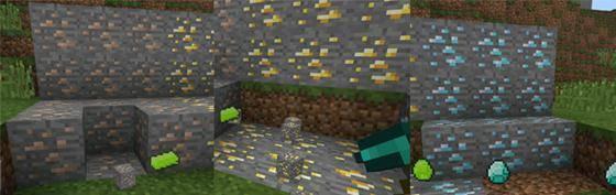 майнкрафт пе мод алмазные блоки #2