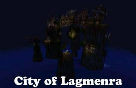 Карта City of Lagmenra для Minecraft PE