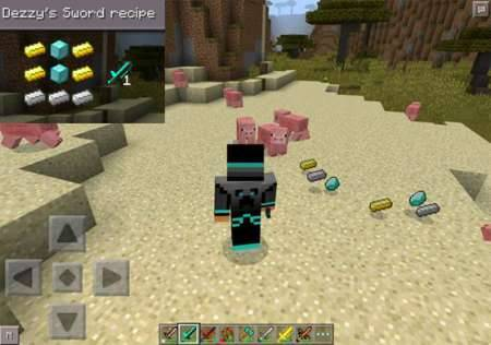 ��� YouTubers Weapons - ������ �������� ��� MCPE